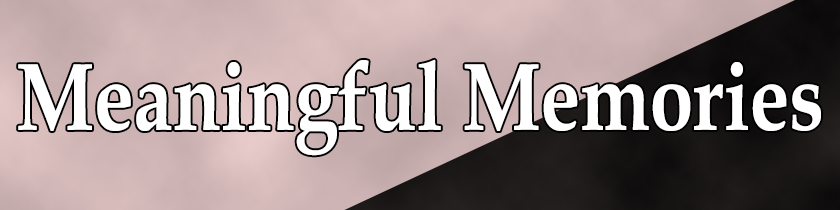 Meaningful Mesmerizing Memories