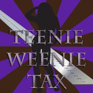 Teenie Weenie Tax Button